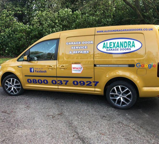 Alexandra Garage Doors Van