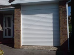Single garage door installation by Alexandra Garage Doors