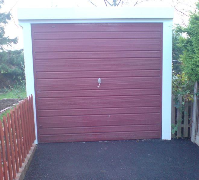 AFTER: Garage door upgrade by Alexandra Garage Doors
